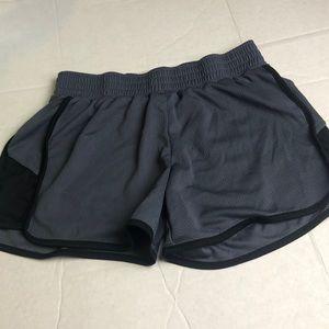 Champion  Gray Black Athletic Shorts Medium